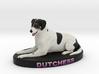 Custom Dog Figurine - Dutchess 3d printed