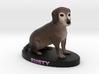 Custom Dog Figurine - Rusty 3d printed