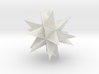 Great Stellated Dodecahedron 3d printed
