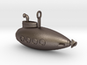 Submarine Pendant 3d printed