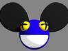 5cm Deadmau5 Head  3d printed