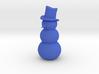 Snowman, Standing 3d printed