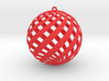 Holiday Decoration Loxo Ball 3d printed