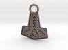Mjolnir Pendant / Keychain 3d printed