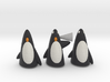 The 3 Wise Penguins 3d printed