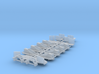 PRR FM Container Flat Car Detail Kit (1:29 Scale) 3d printed