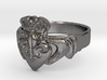 NOLA Claddagh, Ring Size 8 3d printed