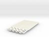 'Sprued' Star Tetrahedron Half-pack #white 3d printed