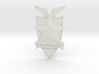 Main Force Patrol Badge (from the first Mad Max) 3d printed