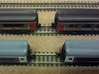 Short Rapido Replacments X 240 - N Gauge 1:160 3d printed Graham Fairish HST Coaches With New Couplings Behind & Old Couplings In Front