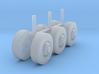 """1/87 Scale Motorhome Wheels """"4 Bud"""" 3d printed"""