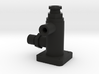 Spitfire Flap Selector Body rear 3d printed
