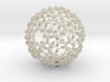 Weaved Knots Sphere 3d printed