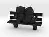 Bears on bench 3d printed