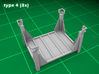 Stackable Container Type4 (3x) 3d printed