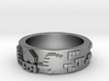 8bit Claddagh ring mkII size 5.5 3d printed