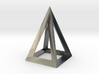pyramidal pendant 3d printed