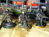 28mm SciFi Melting Blaster x10 3d printed prototypes shown, may vary