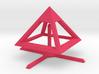 Pyramid Mike B 4cm 3d printed
