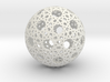 Star Weave Mesh Sphere 3d printed