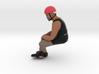 Sad Kanye Large 3d printed