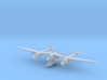 1/700 Virgin Galactic White Knight Two 3d printed