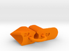 Radius Gauge Metric 3d printed