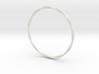 LooseTwist Bangle Bracelet SMALL 3d printed