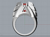Phoenix Ring - Size 12 (21.49 mm) 3d printed