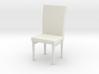 Cushion Chair (Scale 1:24) 3d printed