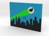 Bat Signal Ornament 3d printed