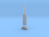 1/400 Delta IV Heavy with Orion Service Module 3d printed