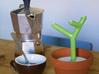 Cactus Spoon 3d printed