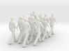 People walking (scale1:10) 3d printed