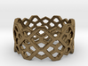 Hexagon ring - size 7.25 3d printed