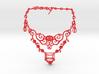 Eloquent Vines Necklace - Modern Elegance Series 3d printed