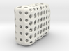 Dancing Dice & Dominoes Puzzle - Part 3/3 (Disks) 3d printed 21 Tiles packaged in cost-saving sinter shell