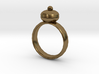 Plum Pudding Ring 22x22mm 3d printed