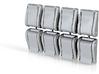 1/6 scale Flat Buckle 8mm X8 Scuba weight belt typ 3d printed
