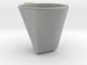'Dark coffee' cup 3d printed