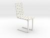 Modern Voronoi Organic Chair 3d printed