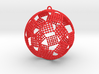 Checkers Ornament 3d printed
