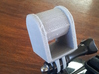 LED Bicycle Headlight GoPro Style Adapter 3d printed Printed on an UP! 3D Printer