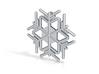 Snowflakes Series II: No. 9 3d printed