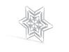 Snowflakes Series II: No. 2 3d printed