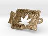 Washington State marijuana key fob 3d printed
