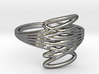 Flows Ring size 7 3d printed