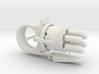 Steampunk Gun Ring 'Fixed Barrel' - 9 parts 3d printed