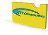 NTT business card 3d printed