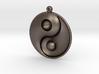 Yin Yang - 6.1 - Earring - Left 3d printed